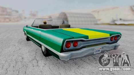 Savanna F&F4 Chevy PJ for GTA San Andreas left view