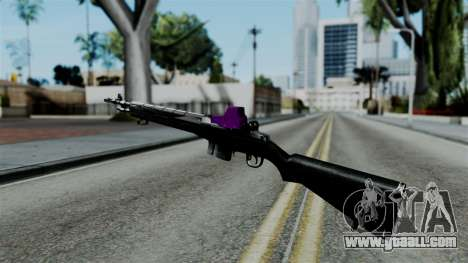 Purple Rifle for GTA San Andreas second screenshot