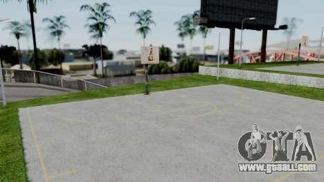 New Basketball Court for GTA San Andreas second screenshot