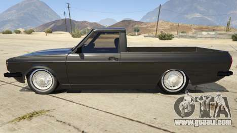 GTA 5 Peykan Vanet left side view