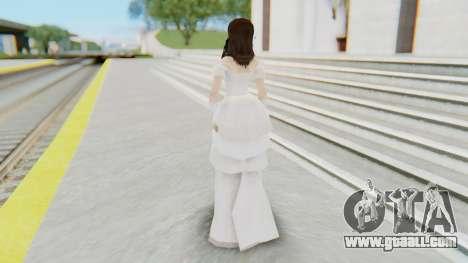 Lin Chi-Ling Bride Outfit for GTA San Andreas third screenshot