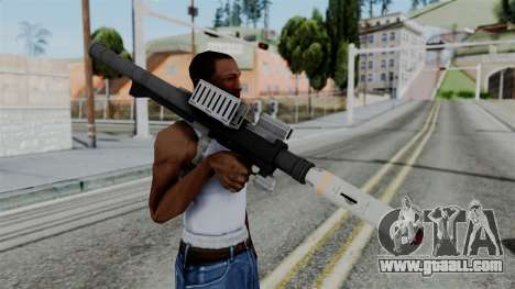 GTA 5 Homing Launcher - Misterix 4 Weapons for GTA San Andreas third screenshot