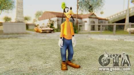Kingdom Hearts 2 Goofy for GTA San Andreas second screenshot