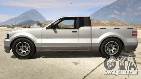 GTA 5 GTA 4 Contender left side view