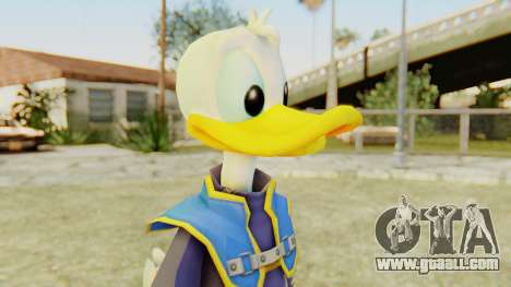 Kingdom Hearts 2 Donald Duck Default v2 for GTA San Andreas