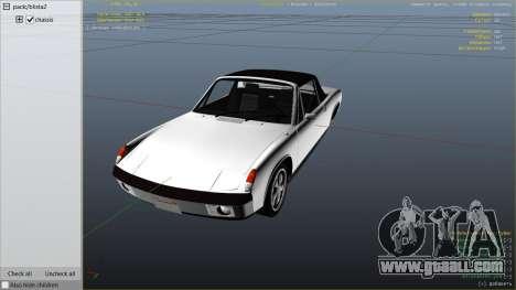 1970 Porsche 914 for GTA 5