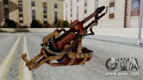 Fallout 4 - Flamethrower for GTA San Andreas second screenshot