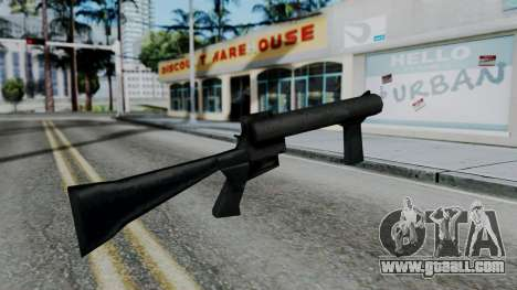 Vice City Beta Grenade Launcher for GTA San Andreas second screenshot