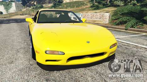 Mazda RX-7 FD3S Stanced [without camber] v1.1 for GTA 5