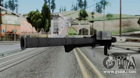 GTA 5 Homing Launcher - Misterix 4 Weapons for GTA San Andreas second screenshot