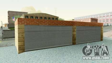 HD Doherty Garage for GTA San Andreas third screenshot