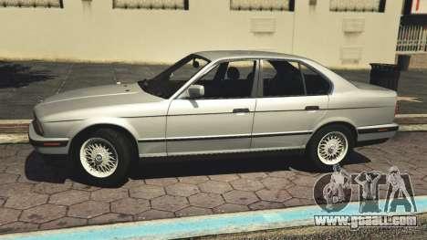 GTA 5 BMW 535i E34 v1.1 left side view