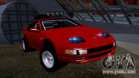 Nissan 300ZX Rusty Rebel for GTA San Andreas