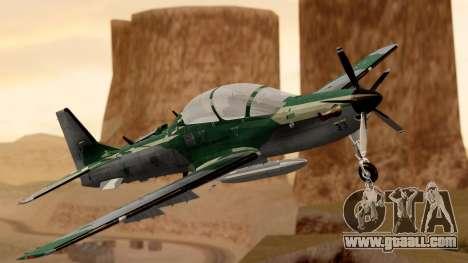 A-29B Embraer Super Tucano for GTA San Andreas