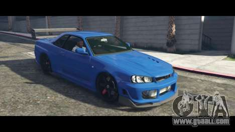 Nissan Skyline R34 Tommy Kaira for GTA 5