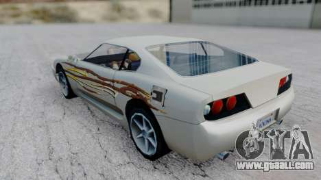 Jester F&F4 RX-7 PJ for GTA San Andreas left view
