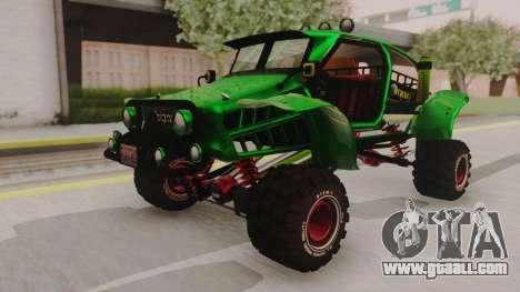 Mudmonster for GTA San Andreas