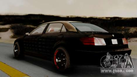 GTA 5 Benefactor Schafter LWB Arm IVF for GTA San Andreas back left view