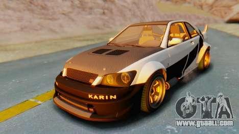 GTA 5 Karin Sultan RS Carbon IVF for GTA San Andreas engine