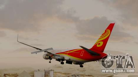 Boeing 767-300ER Hainan Airlines for GTA San Andreas left view