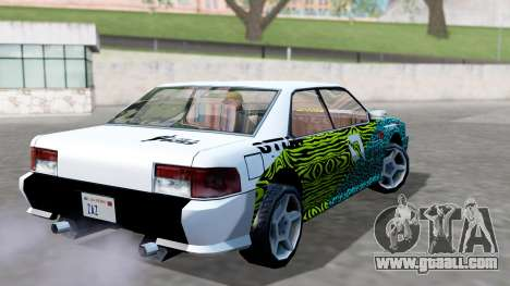 Sultan 4 Drift Drivers V2.0 for GTA San Andreas left view