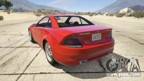 GTA 5 GTA 4 Feltzer rear left side view