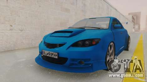 Mazda 3 Full Tuning for GTA San Andreas right view