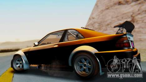 GTA 5 Karin Sultan RS Carbon IVF for GTA San Andreas left view