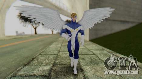 Marvel Heroes - Angel for GTA San Andreas second screenshot