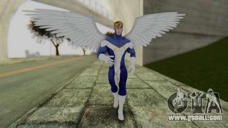 Marvel Heroes - Angel for GTA San Andreas second screenshot