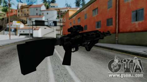 CoD Black Ops 2 - Storm PSR for GTA San Andreas second screenshot