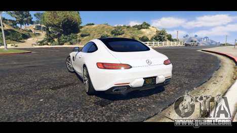 GTA 5 Mercedes-Benz AMG GT 2016 left side view