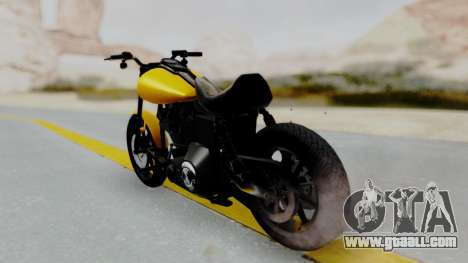 Harley-Davidson Dyna Super Glide T-Sport 1999 for GTA San Andreas left view