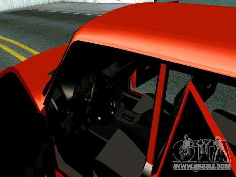 VAZ 2107 Rang Rover Edition for GTA San Andreas inner view