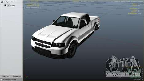 GTA 5 GTA 4 Contender right side view