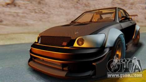 GTA 5 Karin Sultan RS Carbon IVF for GTA San Andreas right view