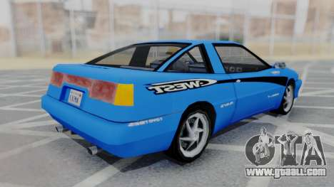 Uranus F&F3 RX-7 West PJ for GTA San Andreas back left view