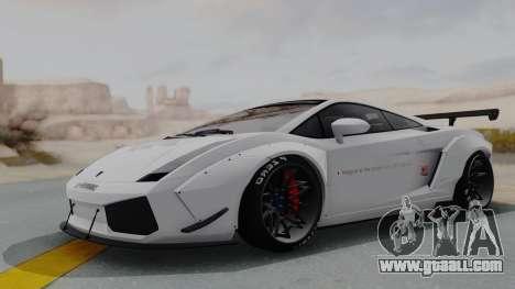 Lamborghini Gallardo 2005 LW LB Performance for GTA San Andreas