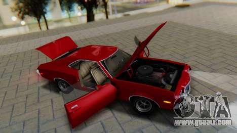 Ford Gran Torino Sport SportsRoof (63R) 1972 PJ1 for GTA San Andreas back view