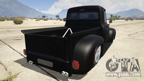 GTA 5 Ford FR100 1953 rear left side view