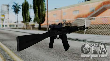 Arma OA AK74-100 for GTA San Andreas second screenshot