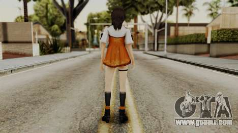 Fatal Frame 5 Yuri for GTA San Andreas third screenshot