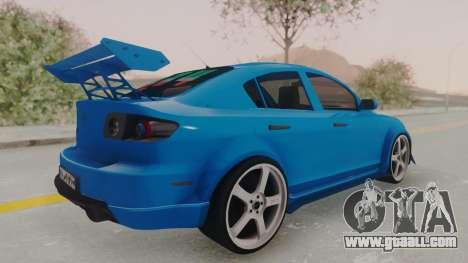 Mazda 3 Full Tuning for GTA San Andreas left view