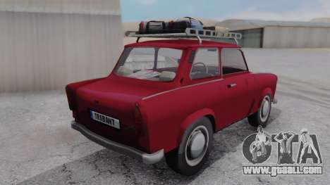 Trabant 601 for GTA San Andreas left view