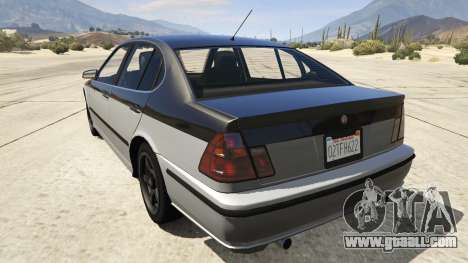 GTA 5 GTA 4 Lokus rear left side view