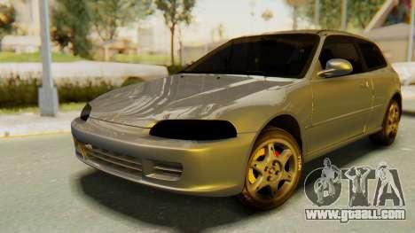 Honda Civic Vti 1994 V1.0 IVF for GTA San Andreas