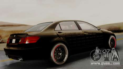GTA 5 Benefactor Schafter LWB Arm IVF for GTA San Andreas left view