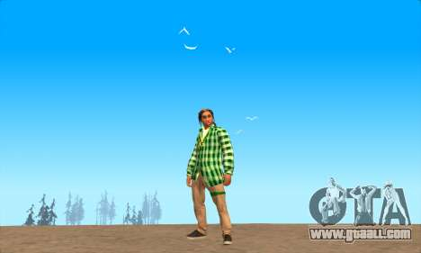 Skin Pak Grove from NeveR for GTA San Andreas third screenshot