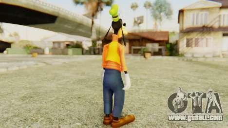 Kingdom Hearts 2 Goofy for GTA San Andreas third screenshot