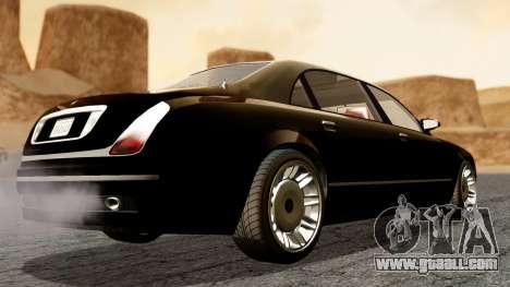 GTA 5 Enus Cognoscenti L for GTA San Andreas left view